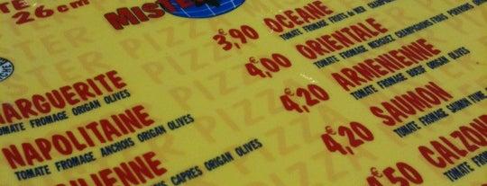 Mister Pizza is one of Strazburg-Nice-Marsilya.