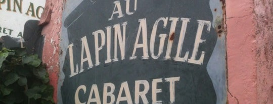 Au Lapin Agile is one of París.