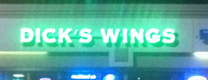 Dick's Wings & Grill is one of Tony'un Beğendiği Mekanlar.