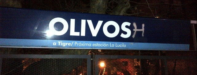 Olivos is one of Locais curtidos por Maru.