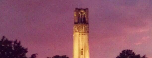 Memorial Belltower is one of Explore NCSU.