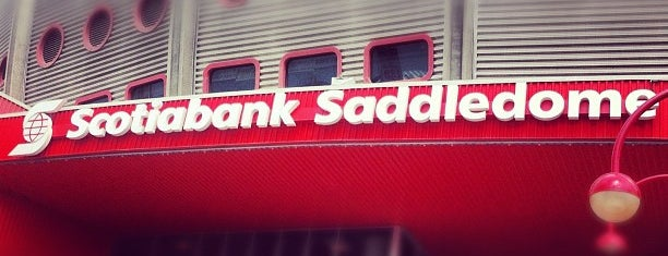 Scotiabank Saddledome is one of sports arenas and stadiums.
