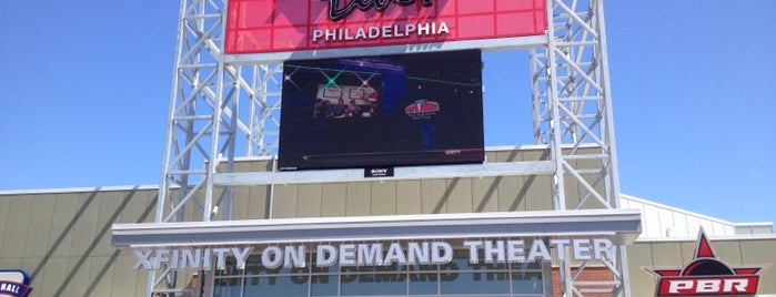 XFINITY Live! Philadelphia is one of Other skin on the face if acne is caused by stesd.