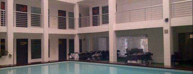 Hotel Villanueva is one of Tempat yang Disukai Fer.
