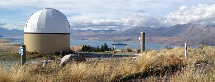 Mt John Observatory is one of Matt'ın Kaydettiği Mekanlar.