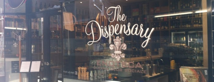 The Dispensary Bar and Diner is one of Beer Melbourne.