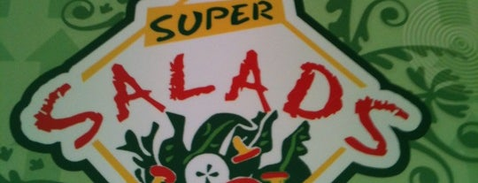 Super Salads is one of Locais curtidos por Alberto.