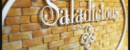Saladicious ® سالاديشيس. JBR is one of Abu Dhabi & Dubai, United Arab emirates.