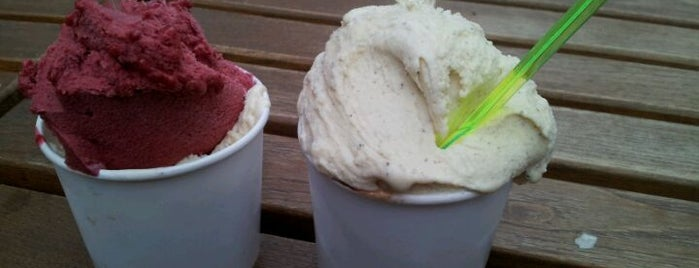 The Icecreamists is one of London's best ice cream.