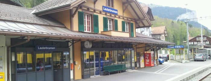 Bahnhof Lauterbrunnen is one of Endel's Liked Places.