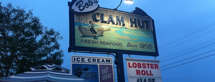 Bob's Clam Hut is one of Diners, Drive-Ins, and Dives.