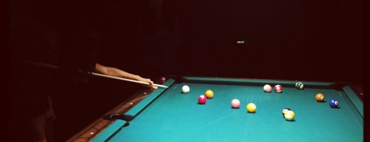 Society Billiards + Bar is one of Places.