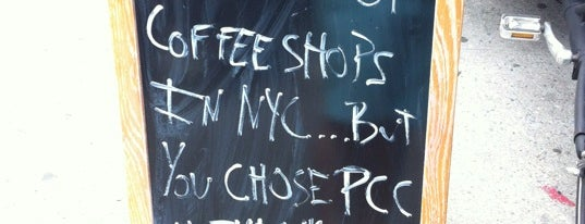Pushcart Coffee is one of NY Espresso #2.
