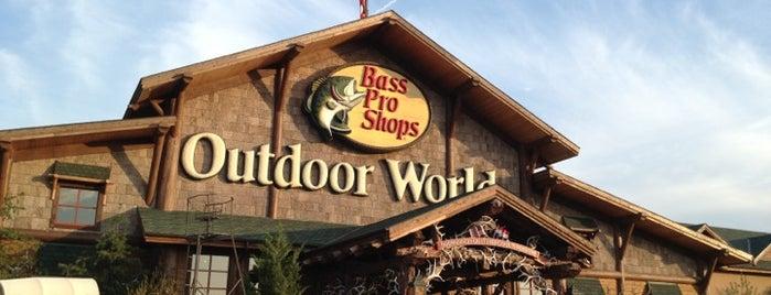 Bass Pro Shops is one of สถานที่ที่ Mark ถูกใจ.
