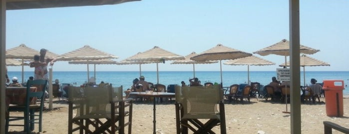 Komi Beach is one of Chios.