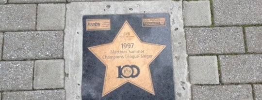 BVB Walk of Fame #79 1997 Matthias Sammer Champions League-Sieger is one of BVB Walk of Fame.