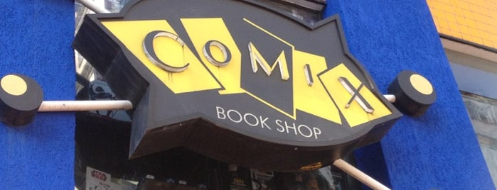 Comix Book Shop is one of Tempat yang Disukai Fabio.