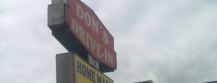Don's Drive-In is one of Burger Joints.