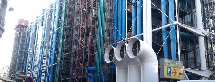 Centro Pompidou – Museo nazionale di arte moderna is one of Paris.