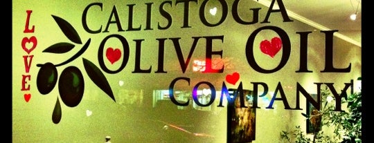 Calistoga Olive Oil Co. is one of Film. Food. Wine..