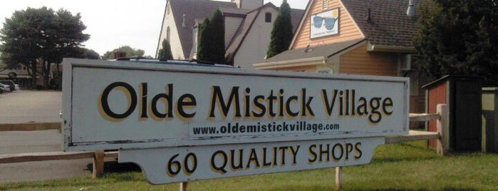 Olde Mystic Village is one of Mystic, CT.