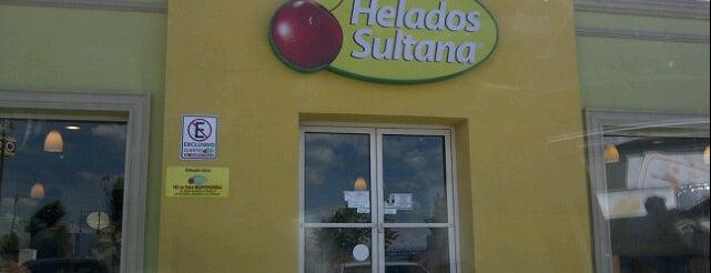 Helados Sultana is one of Lugares favoritos de Beto.
