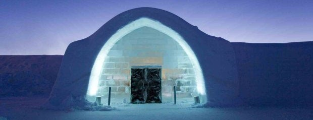 Icehotel is one of Crazy Places.