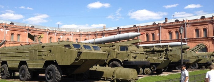Museum of Artillery, Engineers and Signal Corps is one of Must visit in spb.