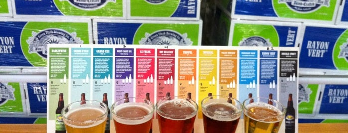Green Flash Brewing Company is one of West Coast Sites.