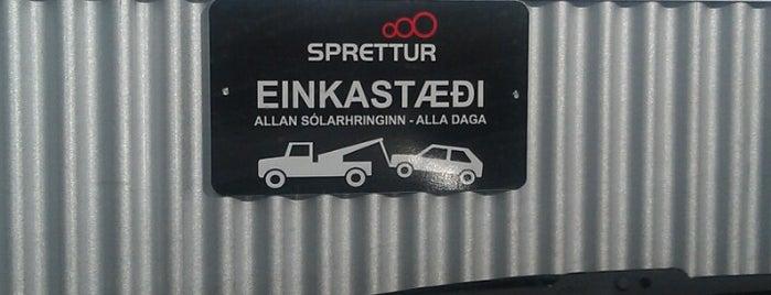 Sprettur is one of Gespeicherte Orte von Guðmundur.