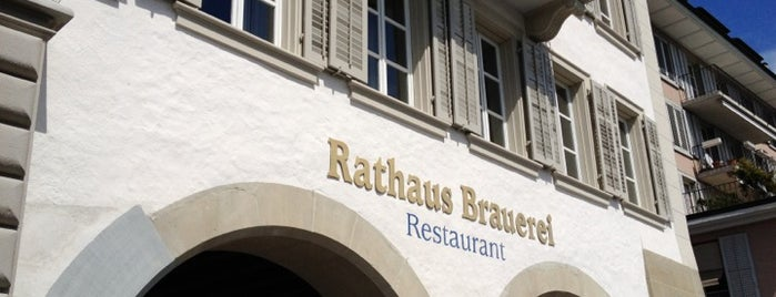 Rathaus Brauerei is one of luzern.