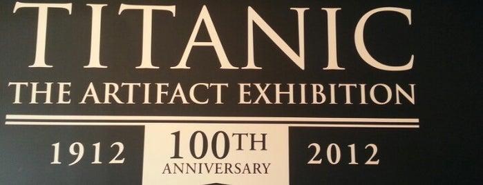 Titanic: The Artifact Exhibition is one of NORTH CAROLINA + GEORGIA.