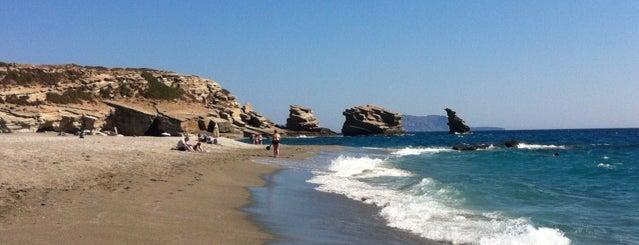 Triopetra is one of Crete.