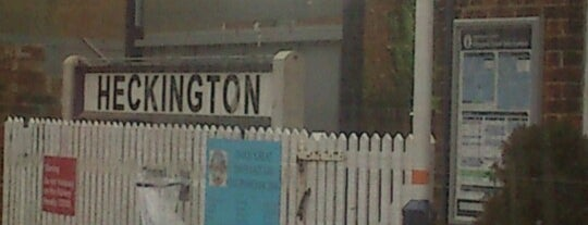 Heckington Railway Station (HEC) is one of UK.