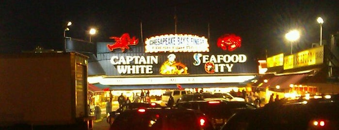 Captain White's Seafood is one of Toujours la verite'..