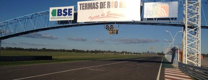 Autódromo Termas de Río Hondo is one of MotoGP - Circuits.