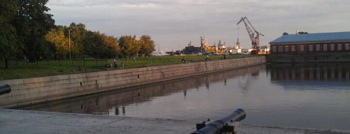 Канал Петровского дока is one of Санкт-Петербург.