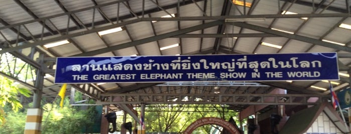 Samphran Elephant Ground & Zoo is one of First Date ~ ❤.
