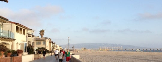 Hermosa Beach - The Strand is one of California.