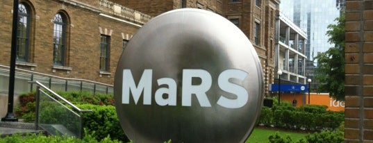 MaRS Discovery District is one of Inspired locations of learning 2.