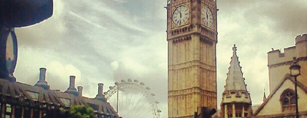 Elizabeth Tower (Big Ben) is one of The Bucket List.