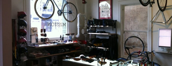 Mission Bicycle Company is one of Benjamin'in Beğendiği Mekanlar.