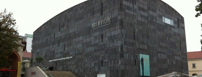 Mumok - Museum Moderner Kunst Stiftung Ludwig Wien is one of Must-Visit ... Vienna.