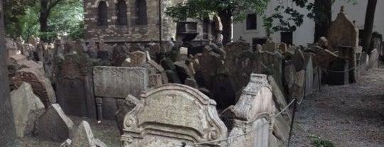 Alter Jüdischer Friedhof is one of StorefrontSticker #4sqCities: Prague.