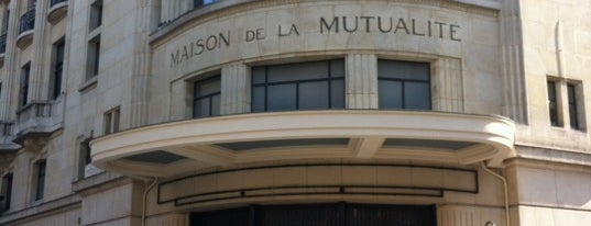 Maison de la Mutualité is one of Jumpin jumpin.