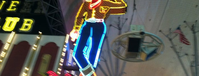 Downtown Las Vegas is one of Vegas Bound Bitches 13'.