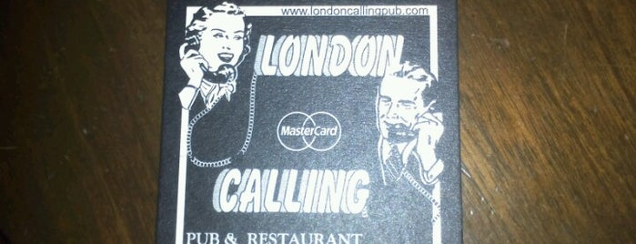 London Calling is one of Bogotá - Cerveza.