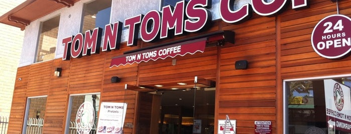 Tom N Toms Coffee is one of Personal saves.