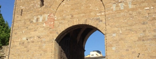Porta San Frediano is one of The doors of Florence.