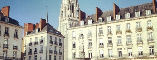 Place Royale is one of Nantes.